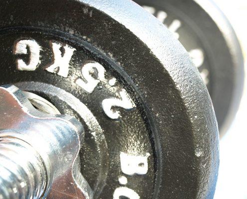 sterke spieren met collageen