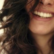 mooie witte tanden